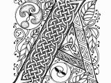 Celtic Alphabet Coloring Pages Luxury Celtic Alphabet Coloring Pages Katesgrove
