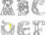 Celtic Alphabet Coloring Pages Waldorf 4th Grade norse Mythology Knot Letters Main Lesson