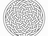 Celtic Knotwork Coloring Pages Celtic Knot Work Rosette 8 Autocad