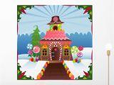 Celtic Mural Wall Art Amazon Wallmonkeys Snowy Gingerbread House Wall Mural