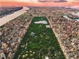 Central Park Wall Mural Central Park From Above by Bskphoto