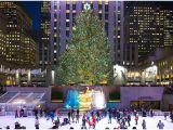 Central Park Wall Mural Travel New York City Zur Weihnachtszeit Rockefeller Center