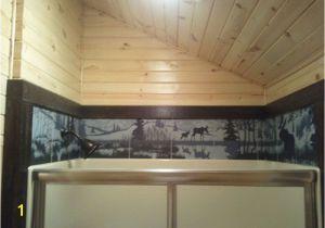 Ceramic Tile Murals Bathroom Over the Shower Ceramic Tile Wildlife Wraparound