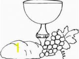 Chalice and Host Coloring Page 69 Best Munion Images On Pinterest