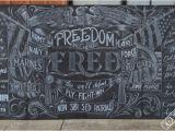 Chalk Quotes Wall Mural Chalk Mural Artist New York Chalk Artist San Francisco