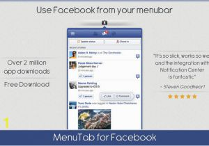 Change Color Facebook Page Menutab for On the Mac App Store
