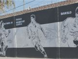 Charcoal Murals Graffiti Wall Art Football Art Wall Graffiti Famous Football Players
