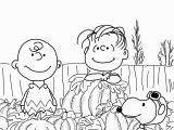Charlie Brown and the Great Pumpkin Coloring Pages Great Pumpkin Charlie Brown Coloring Page