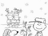 Charlie Brown Christmas Tree Coloring Page Charlie Brown Christmas Coloring Pages