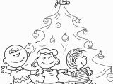 Charlie Brown Christmas Tree Coloring Page Charlie Brown Christmas Tree Coloring Page
