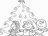 Charlie Brown Christmas Tree Coloring Page Christmas Tree Coloring Pages for All Ages