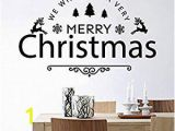Cheap Christmas Wall Murals Amazon Merry Christmas Wall Vinyl Decal Happy New Year
