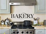 Cheap Kitchen Wall Murals Amazon Tiukiu Bakery Kitchen Sign Wall Art Vinyl Wall