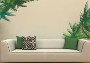Cheap Wall Murals and Decals Vinyl Waterproof Tree Leaf Wall Stickers Plant Wall Mural Decal