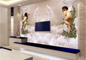 Cheap Wall Murals Canada Custom Wallpaper 3d Wall Murals European Style Little Angel