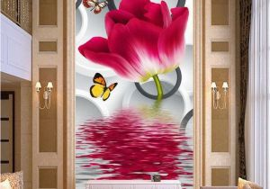 Cheapest Wall Murals Cheap Flower House Wallpaper Buy Quality Flowering Hostas Directly