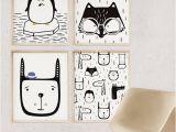 Cheetah Print Wall Murals Rabbit Nursery Wall Art Animal Print Digital Paper Kids Room Decor