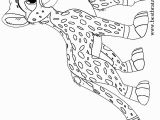 Cheetah Running Coloring Pages Printable Cheetah Coloring Pages for Kids
