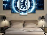 Chelsea Football Wall Murals Chelsea Football Club Football 5 Pcs Painting Canvas Wall