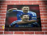 Chelsea Football Wall Murals Frank Lampard and John Terry Chelsea Football Gallery Framed