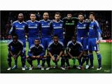 Chelsea Football Wall Murals Mahalaxmi Art & Craft Chelsea Football Club Team Canvas Wall Poster without Frame