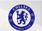 Chelsea Football Wall Murals Maple Enterprsie Chelsea Football Club Blue Logo Decal Sticker for Car Lapotop Wall or Any Smooth Surface 15""