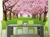 Cherry Blossom Mural On Walls 15 Most Beautiful Wall Murals with Good Feng Shui