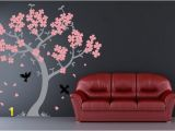 Cherry Blossom Mural On Walls Cherry Blossom Murals Decoration Ideas Picture Love the