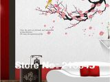 Cherry Blossom Wall Mural Stencil Us $5 85 Off [fundecor] Diy Home Decor Wall Decals Tree Branches Wall Deco Mural Flower Bird Art Stickers In Wall Stickers From Home & Garden On