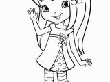 Cherry Jam Strawberry Shortcake Coloring Pages Strawberry Shortcake Cherry Jam Coloring Page