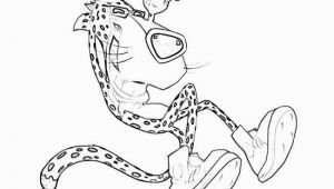 Chester Cheetah Coloring Pages Chester Cheetah Coloring Pages