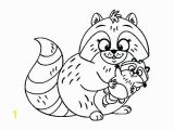 Chester Raccoon and the Big Bad Bully Coloring Pages Racoon Coloring Page Awesome Raccoon Coloring Page Raccoon Mario