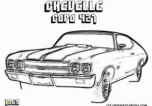Chevy Chevelle Coloring Pages Image Chevy Car Coloring Pages Chevy Coloring Pages Impala