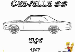 Chevy Chevelle Coloring Pages Muscle Car Coloring Pages Awesome Beste Muscle Car Malbuch