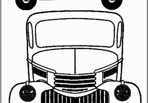 Chevy Corvette Coloring Pages Vintage Truck Color Book Pages