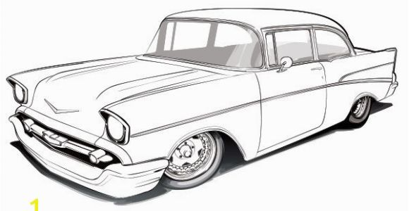 Chevy Nova Coloring Pages Five Seven Coloring Page Classic Chevy Pinterest