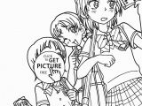 Chibi Anime Girl Coloring Pages 26 Anime Girl Coloring Pages to Print Printable