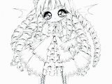 Chibi Anime Girl Coloring Pages Anime Chibi Coloring Pages for Girls Free Unique Printable Anime