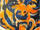 Chicago Bears Murals 9 Best Chicago Bears Room Images