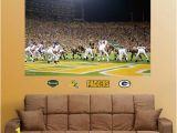Chicago Bears Murals Nfl Green Bay Packers Chicago Bears End Zone Mural Fathead