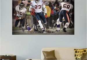 Chicago Bears Wall Mural Chicago Bears Wall Stickers Palesten