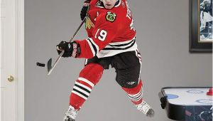 Chicago Blackhawks Wall Mural Jonathan toews Fathead Wall Decal