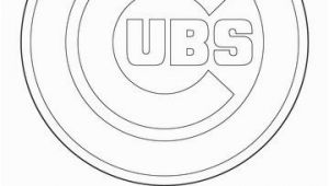 Chicago Cubs Coloring Pages Chicago Cubs Logo Coloring Page