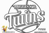 Chicago Cubs Coloring Pages Twins Logo Color Book