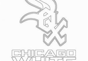 Chicago Cubs World Series Coloring Pages Chicago White sox Logo Coloring Page Art Pinterest