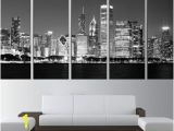 Chicago Skyline Wall Mural Chicago Skyline Wall Decal City From Fabwalldecals On Etsy