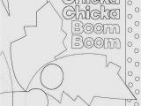 Chicka Chicka Boom Boom Coloring Pages Chicka Chicka Boom Boom Coloring Pages Coloring Home