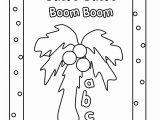 Chicka Chicka Boom Boom Coloring Pages Chicka Chicka Boom Boom Coloring Pages