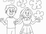 Child Face Coloring Page Children S Day Wishes Coloring Page Card
