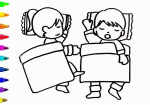Child Sleeping Coloring Page Kids Drawing Pages at Getdrawings